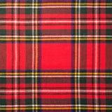 Textura de la tela escocesa de tartán Fotos de archivo