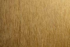 Textura de la tela de las rayas verticales de Brown imagen de archivo