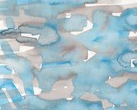 Textura de la tinta en el papel Foto de archivo libre de regalías