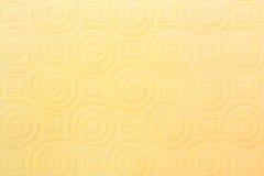 Textura de la toalla de papel Fotografía de archivo
