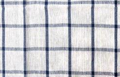 Textura de la toalla de plato del algodón Imágenes de archivo libres de regalías
