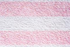 Textura de la toalla Foto de archivo libre de regalías