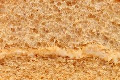 Textura de la torta de esponja Fotos de archivo
