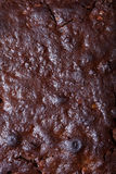 Textura de la torta de la nuez para el fondo comestible Decoración del filamento del azúcar Imagen de archivo libre de regalías