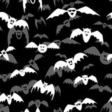 Textura de la trama para Halloween que consiste en elementos del día de fiesta Foto de archivo