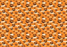 Textura de la trama para Halloween que consiste en elementos del día de fiesta Foto de archivo libre de regalías
