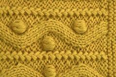 Textura de lana Fotografía de archivo libre de regalías