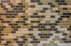 Textura de las baldosas cerámicas de Brown Foto de archivo libre de regalías
