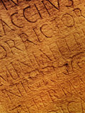 Textura de las cartas romanas Imagen de archivo