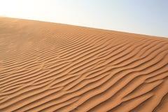 Textura de las dunas de arena Imagen de archivo