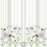 Textura de las flores libre illustration