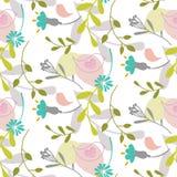 textura de las flores de la primavera Tema dulce ilustración del vector