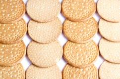 Textura de las galletas Imagen de archivo