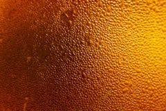 Textura de las gotas de la cerveza imagen de archivo