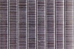 Textura de las grapas Imagen de archivo libre de regalías