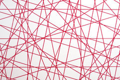 Textura de las líneas de cruce Fotografía de archivo