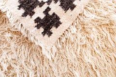 Textura de las lanas Foto de archivo