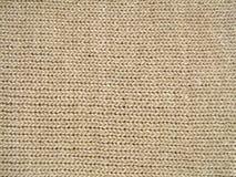 Textura de las lanas de Brown Imagen de archivo