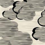 Textura de las nubes Fotografía de archivo libre de regalías