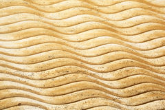 Textura de las ondas de piedra Imagen de archivo