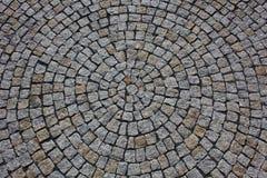 Textura de las piedras de pavimentación Fotografía de archivo