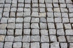 Textura de las piedras de pavimentación Imagen de archivo