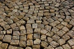 Textura de las piedras de pavimentación Imagenes de archivo