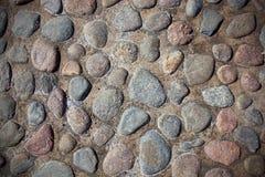 Textura de las piedras del río Fotografía de archivo libre de regalías
