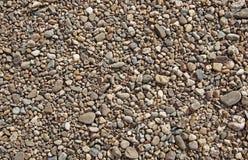 Textura de las piedras del río Imagen de archivo libre de regalías