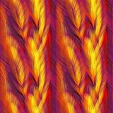 Textura de las plumas stock de ilustración