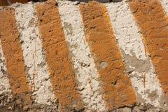 Textura de las rayas del peligro Fotografía de archivo