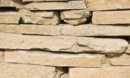 Textura de las rocas de la piedra caliza Imagenes de archivo