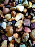 Textura de las rocas Grado, difícilmente rocas del colourfull imágenes de archivo libres de regalías