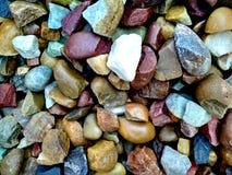Textura de las rocas Grado, difícilmente rocas del colourfull fotos de archivo