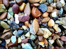 Textura de las rocas Grado, difícilmente rocas del colourfull foto de archivo libre de regalías
