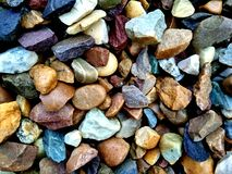 Textura de las rocas Grado, difícilmente rocas del colourfull foto de archivo