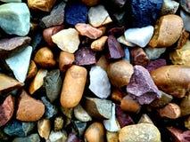 Textura de las rocas Grado, difícilmente rocas del colourfull imagen de archivo