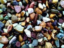Textura de las rocas Grado, difícilmente rocas del colourfull imagen de archivo libre de regalías