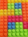 Textura de Lego Fotografía de archivo libre de regalías