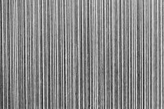 Textura de linhas preto e branco preto e branco, verticais Imagem de Stock Royalty Free