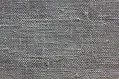 Textura de linho cinzenta para o fundo Imagem de Stock Royalty Free