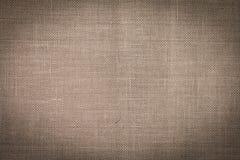 Textura de linho natural Imagens de Stock