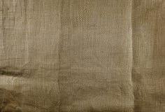 Textura de linho natural da tela para o fundo Fotos de Stock