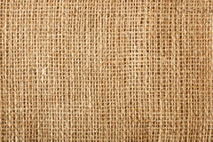 Textura de linho natural de matéria têxtil Foto de Stock Royalty Free