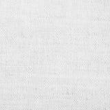 Textura de lino blanca para el fondo Fotos de archivo