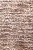 Textura de lino de la tela Fotografía de archivo