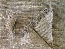 Textura de lino de la tela Imagenes de archivo
