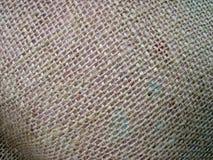 Textura de lino de la tela Foto de archivo libre de regalías