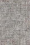 Textura de lino gris para el fondo Fotografía de archivo libre de regalías