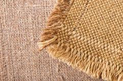 Textura de lino natural ligera Fotografía de archivo libre de regalías